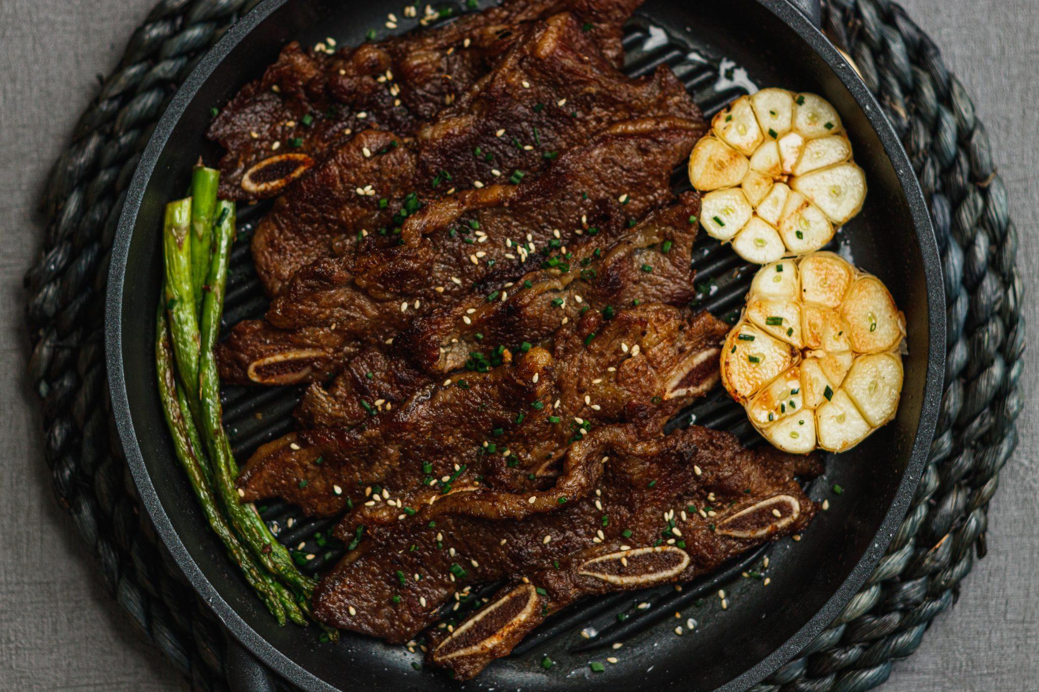 KOREAN SWEET SOY SHORT RIB BBQ
