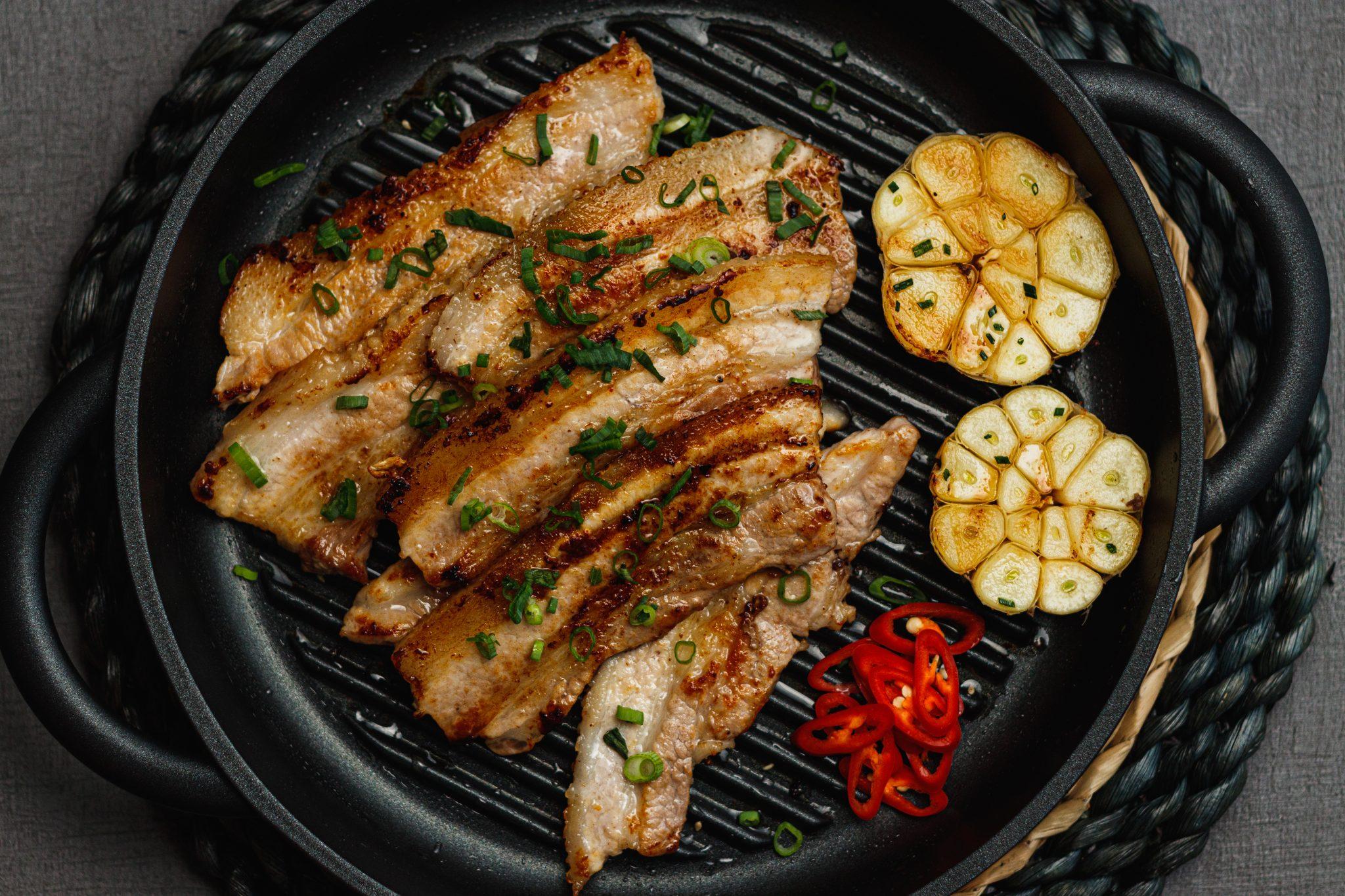 KOREAN STYLE PORK BELLY BBQ